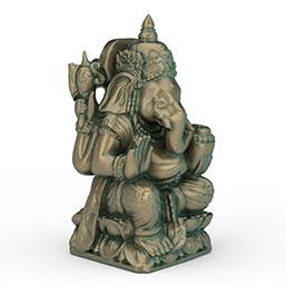青铜雕像模型