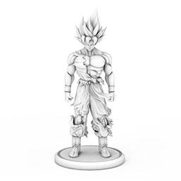 七龙珠悟空造型雕像模型