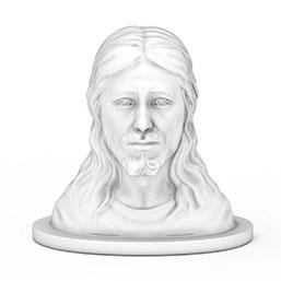 耶稣石膏体雕塑模型