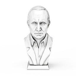 普京总统雕像模型