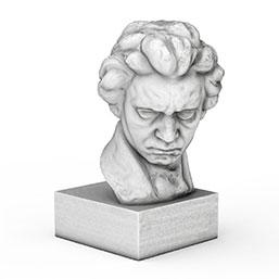 贝多芬雕像模型