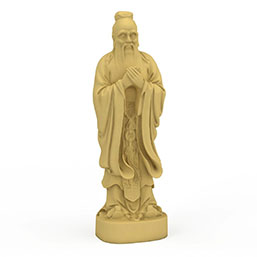 孔子雕塑模型