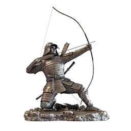 士兵雕塑摆件模型