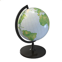 地球仪模型