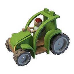 卡通拖拉机模型