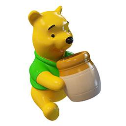 小熊卡通模型