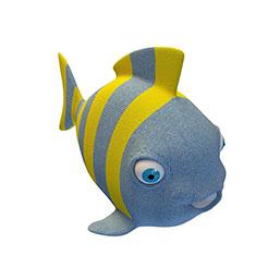 海鱼形抱枕模型