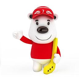 北极熊公仔玩具模型