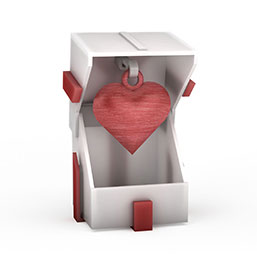 3D打印礼物盒子模型