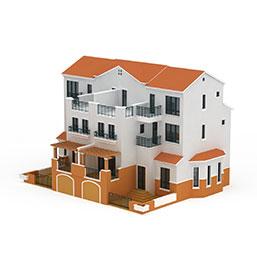 独栋别墅模型