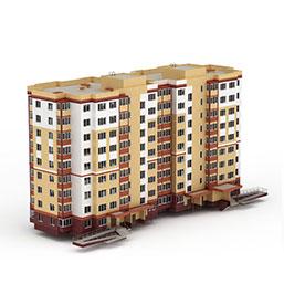建筑单体模型