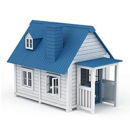 户外小木屋模型