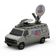 电视台摄影车模型