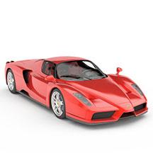 法拉利Enzo汽车模型