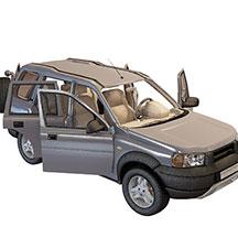 越野车模型