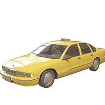 计程车模型