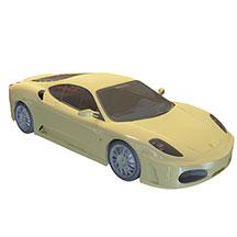 法拉利跑车模型