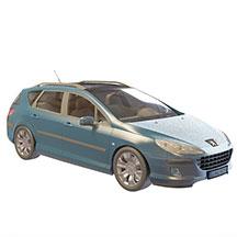 标致微型车模型