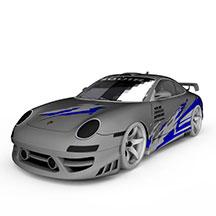 保时捷汽车模型