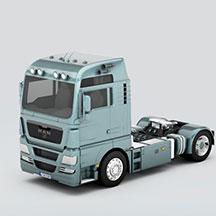 MAN_tgx重卡车模型