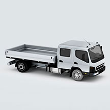 MitsubishiFusoCanter模型