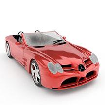 奔驰SLR迈凯轮模型