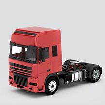 达夫DAF重卡车模型