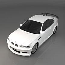 BMWM3III汽车模型