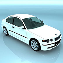 BMWCOMPACT汽车模型