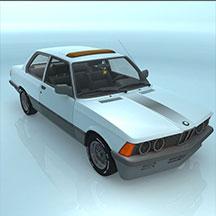 BMWE21汽车模型