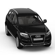 黑色奥迪Q7模型