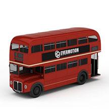 双层公共汽车模型