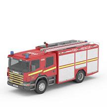 红色消防车模型