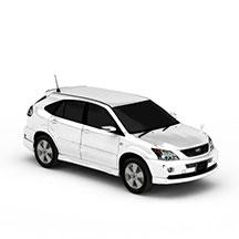 SUV汽车模型