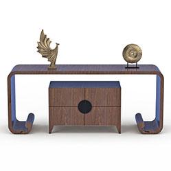现代客厅装饰桌3d模型
