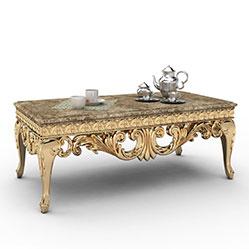 欧式皇宫咖啡桌3d模型