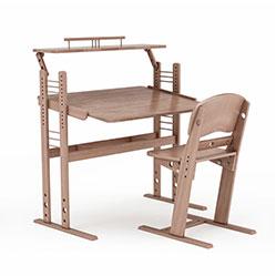 现代木质钢琴桌3d模型