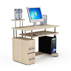 现代家居简易电脑桌模型