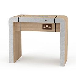 简约现代感电脑桌模型