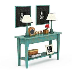 北欧实木装饰桌3d模型