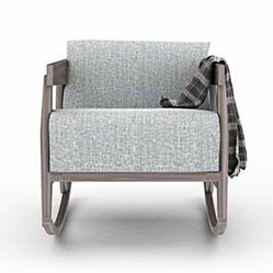 扶手老人沙发椅3d模型