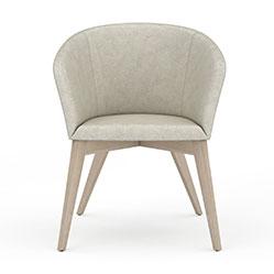 简易圆形靠背椅子模型