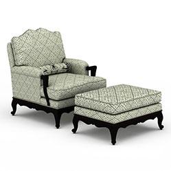 简约休闲布艺沙发模型