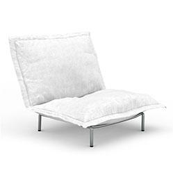 现代简易双人软沙发模型