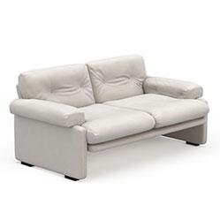 现代简约皮沙发3d模型