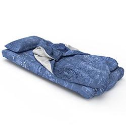 现代榻榻米懒人床模型