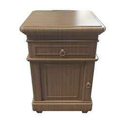 欧式实木床头柜3d模型