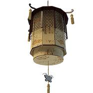 中式复古灯笼3D模型