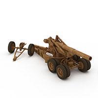 203高射炮模型