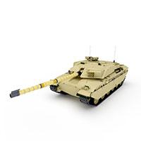 英式CHALLE坦克模型
